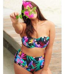 bora bora underwire bandeau bikini top c-g