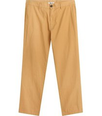 pantalon chino unicolor hombre color amarillo, talla 36