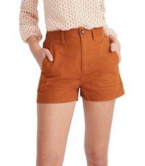 women's madewell camp shorts