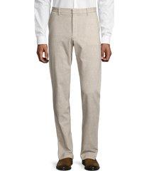boss hugo boss men's kaito tapered slim-fit dress pants - beige - size 28