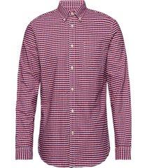 shirt skjorta casual röd united colors of benetton