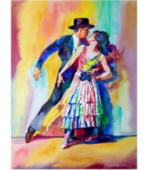 "david lloyd glover spanish dance canvas art - 15"" x 20"""