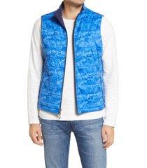 men's peter millar cloudglow reversible quilted vest