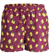 rood jack&jones jjicali jjswim shorts akm frui korte broek