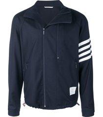 thom browne double-zip raglan jacket - blue