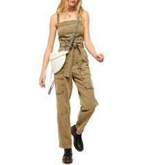 women's free people go west utility jumpsuit
