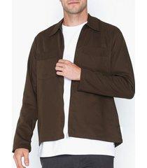 l'homme rouge second layer c2c skjortor chestnut brown