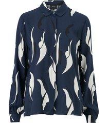 blus objalora bay l/s shirt