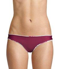 reversible basic ruched bikini bottom