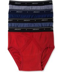 men's classic low-rise briefs, pack of 4
