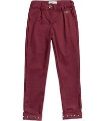 pantalón vinotinto estilo rosa romi