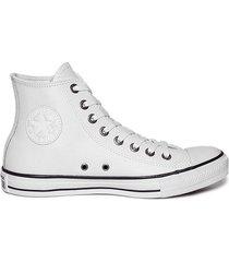 zapatilla blanca converse all star leather hi