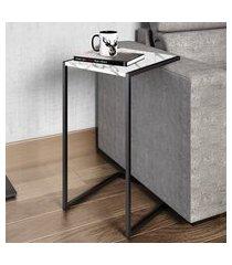 mesa para sala de estar artesano lateral mdp thassos