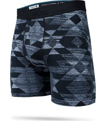 stance darkwater boxer briefs, size x-large in black at nordstrom