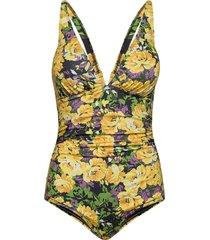 artygz swimsuit baddräkt badkläder gul gestuz
