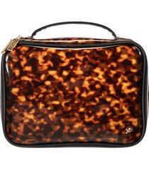 stephanie johnson claire miami clearly tortoise jumbo makeup case, size one size - no color