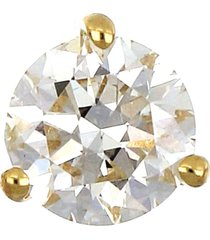bony levy single diamond stud earring, size 0.17 ct tw in yellow gold at nordstrom
