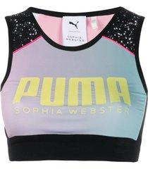 puma x sophia webster top esportivo 'x sophia webster' - preto