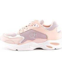 tenis de mujer o.p. running eleonor m1a - rosa