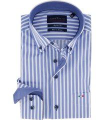 overhemd portofino blauw gestreept