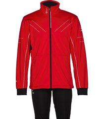 murto m xct softshell set outerwear sport jackets rood halti