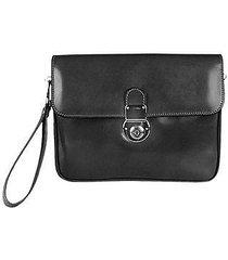 l.a.p.a. designer briefcases, men's genuine leather clutch