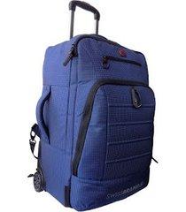 maleta de viaje swissbrand stanford-azul