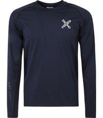 kenzo rear cross logo longsleeved sweater