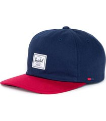 gorra albert blanco azul/rojo herschel