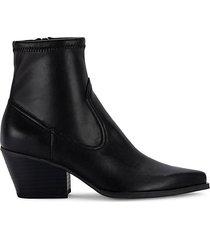 shanna heeled mid-calf booties