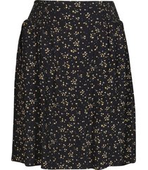 black viscose skirt
