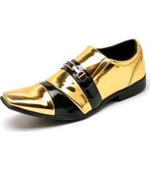 11e99e533a Sapatos - Sociais - Dourado E Preto - 18 produtos com até 33.0% OFF ...