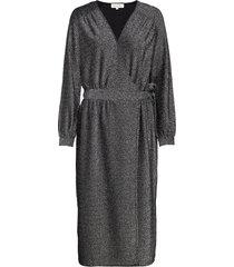 mallyroy jurk knielengte zilver six ames