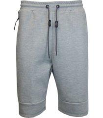 galaxy by harvic tech fleece shorts with heat seal side zipper