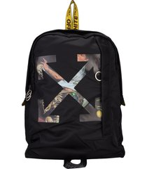 off white pascal easy backpack