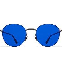 lessrim sun x mykita blue tomomi sunglasses