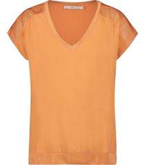 aaiko jena t-shirt oranje