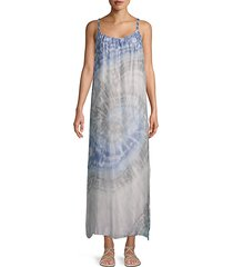 tie-dyed shift dress