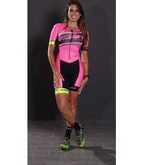 macaquinho feminino premium ert pro team rosa - forro gel rosa. - rosa - feminino - dafiti