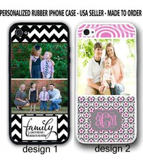 personalized custom family image photo chevron case cover for iphone 7+ 6s se 5s