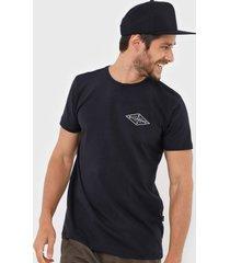 camiseta billabong all pinner preta