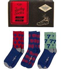 3-pair lucky socks set