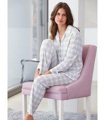 pyjama 100% katoen van hautnah beige