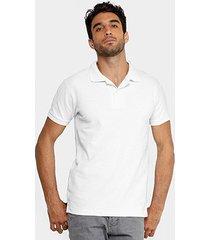 camisa polo rg 518 clássica bordado masculina