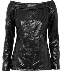 maglia con spalle scoperte (nero) - bodyflirt boutique