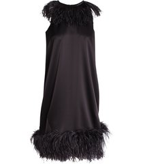 'lee feathers' dress