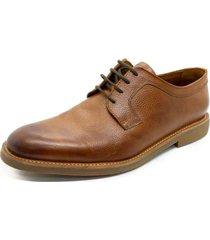 zapato marrón pato pampa liso octavio