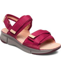 tri walk shoes summer shoes flat sandals rosa clarks