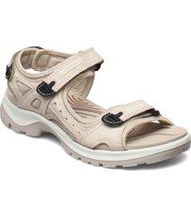offroad shoes summer shoes flat sandals creme ecco
