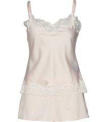 lrl signature lace cami top set pyjama wit lauren ralph lauren homewear